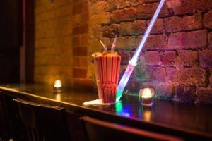 Jedi Night Poptail – Available at all Adventure Bars